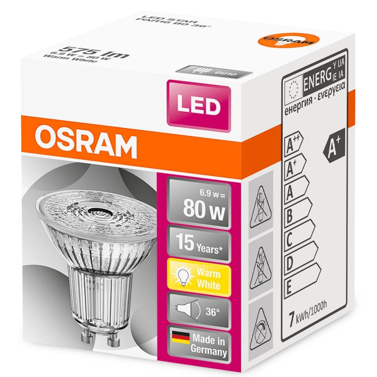 Osram 80W GU10 Bulb - Warm White