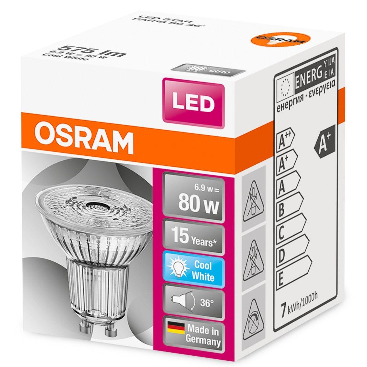 Osram 80W GU10 Bulb - Cool White