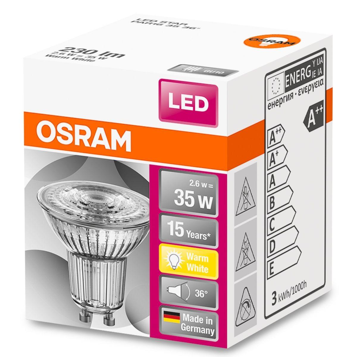Osram 35W GU10 LED Bulb - Warm White