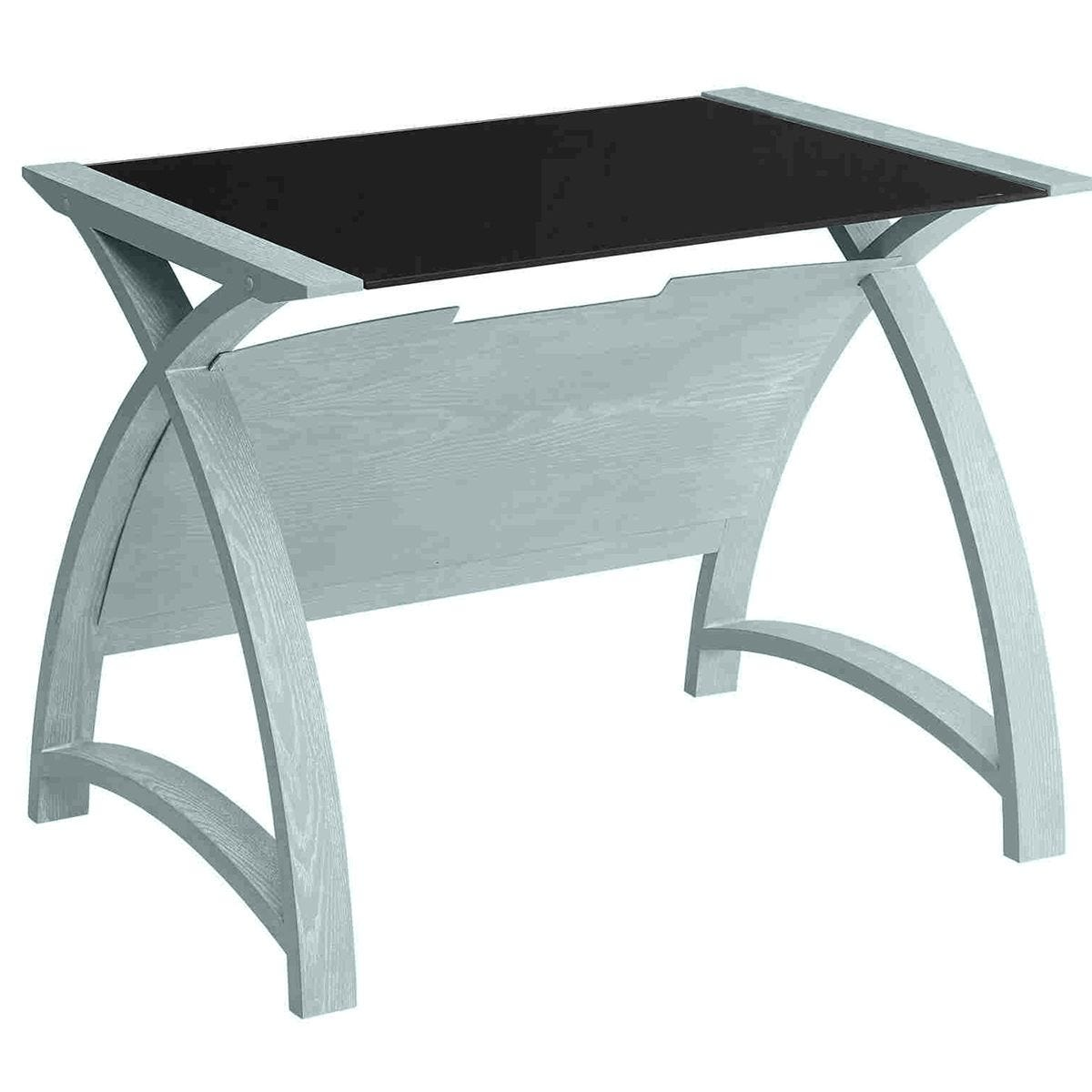 Jual Helsinki Curve Grey Ash/Glass Laptop Desk 900