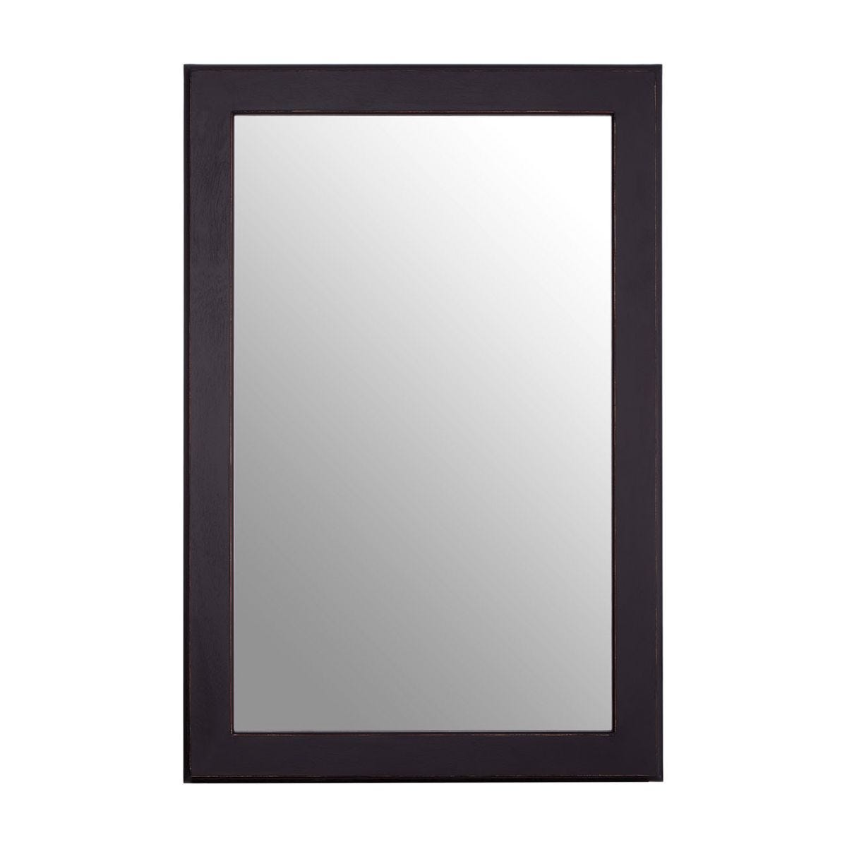 Heritage Wall Mirror - Black