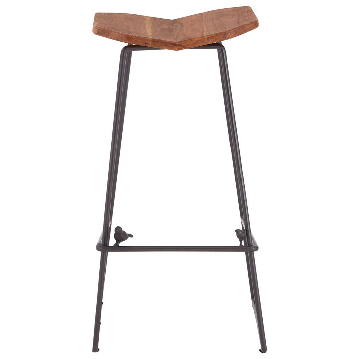 New Foundry 4 Leg Bar Stool