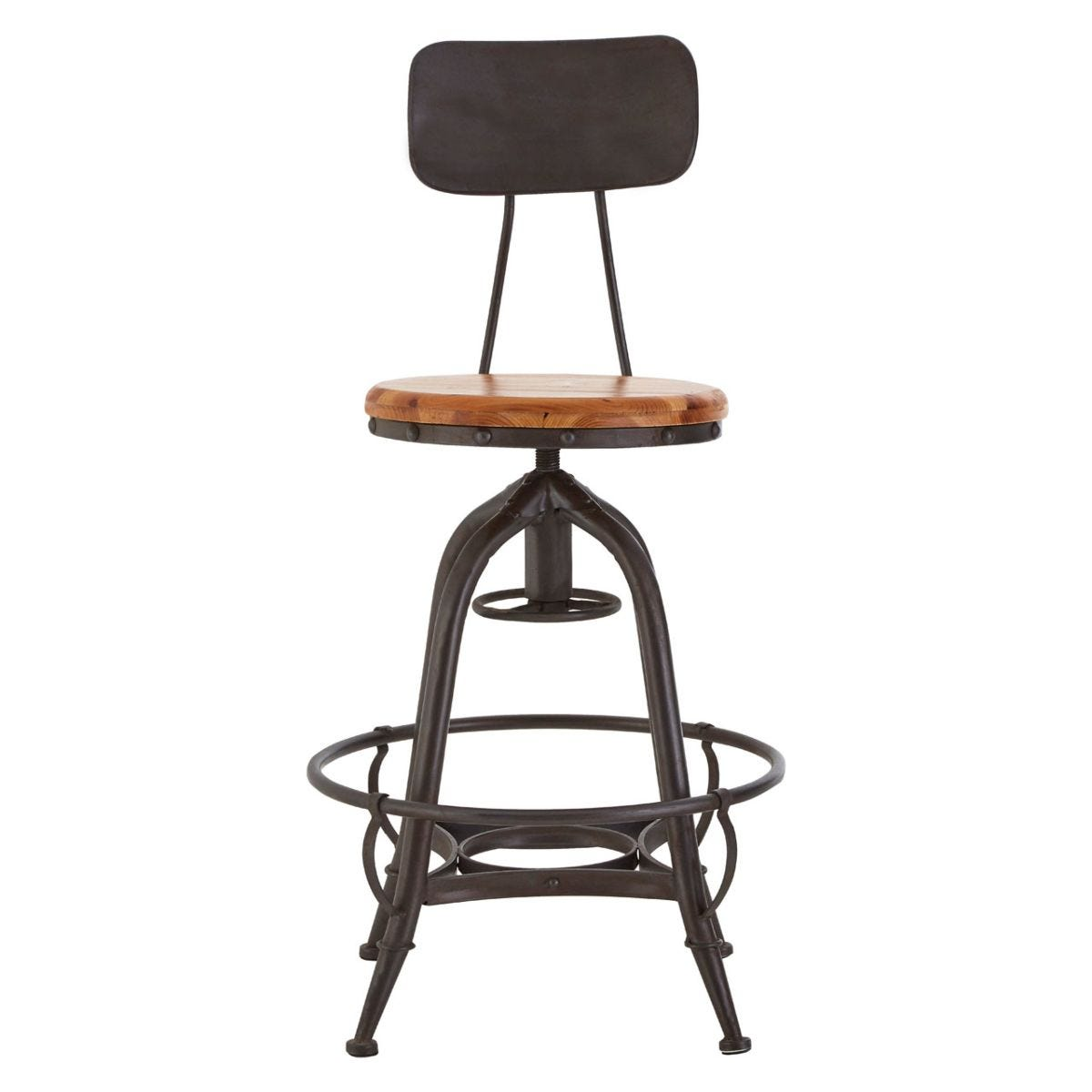 New Foundry Bar Chair With Adjustable Height