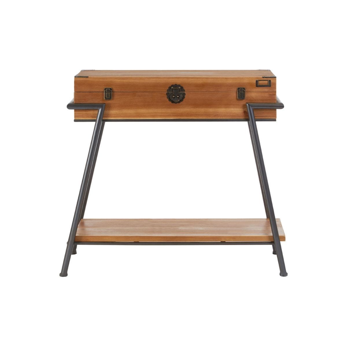 New Foundry Fir Wood Console Table