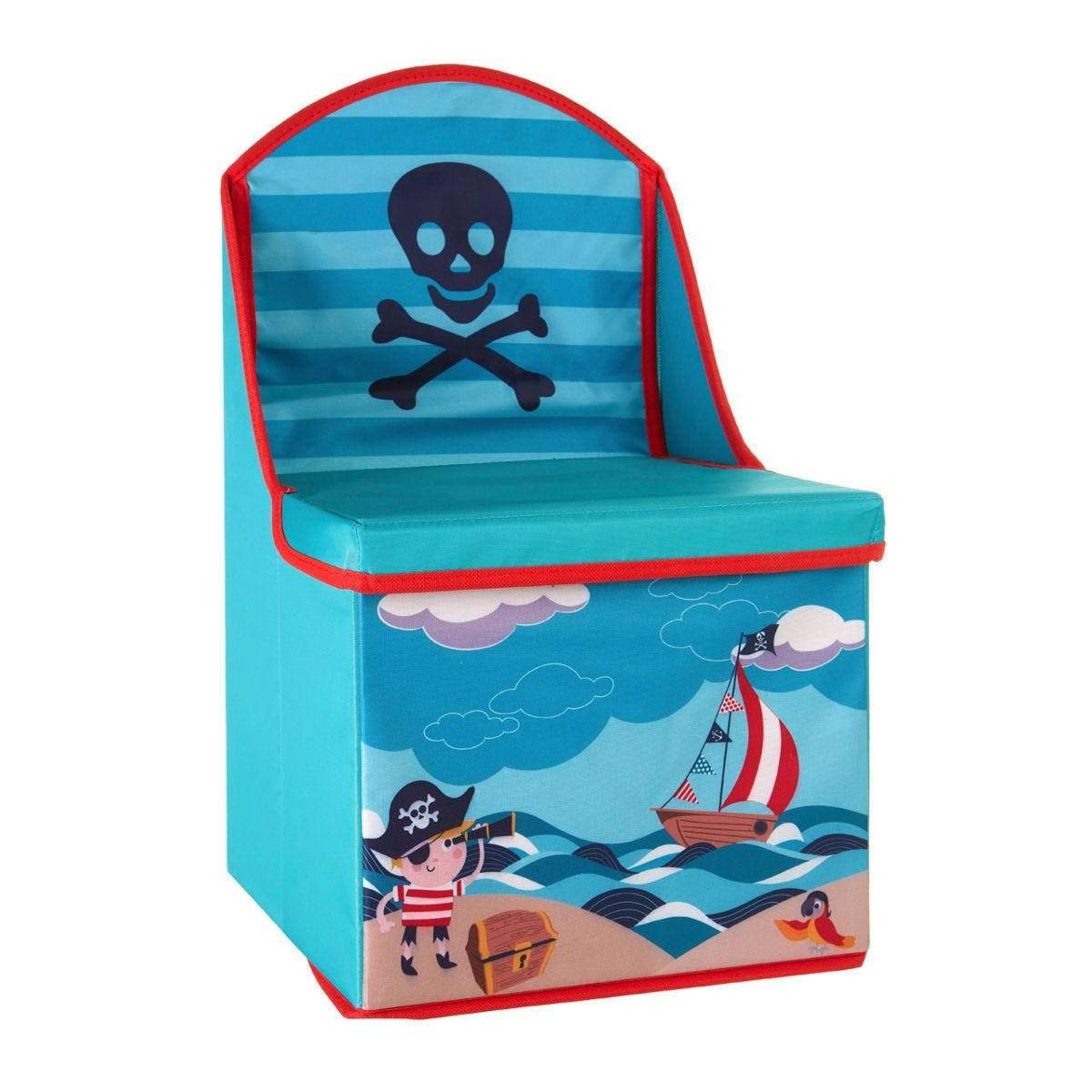 Kids Pirate Storage Box