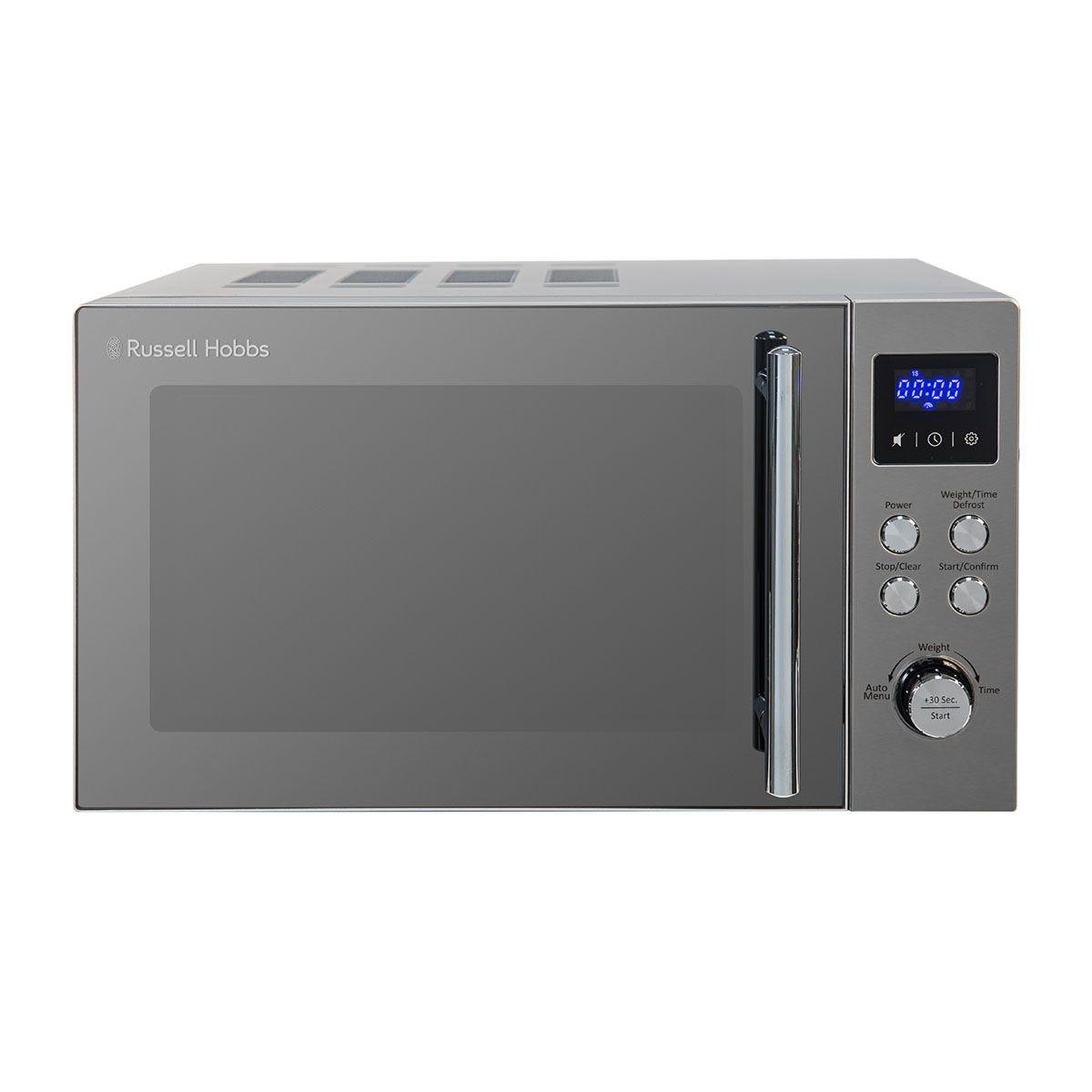 Russell Hobbs Buckingham 800W 17L Digital Microwave - Stainless Steel