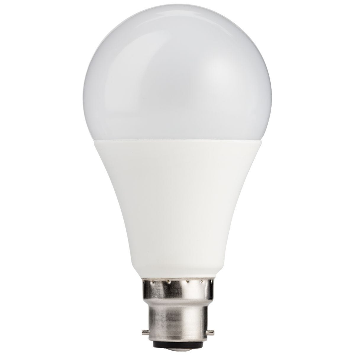 TCP LED Classic 1521lm B22 Costed Dimmable 6500k 100W Bulb - Daylight