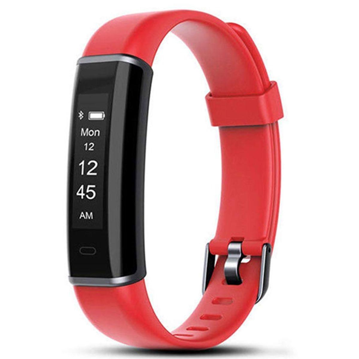 Aquarius AQ113 Fitness Tracker - Red