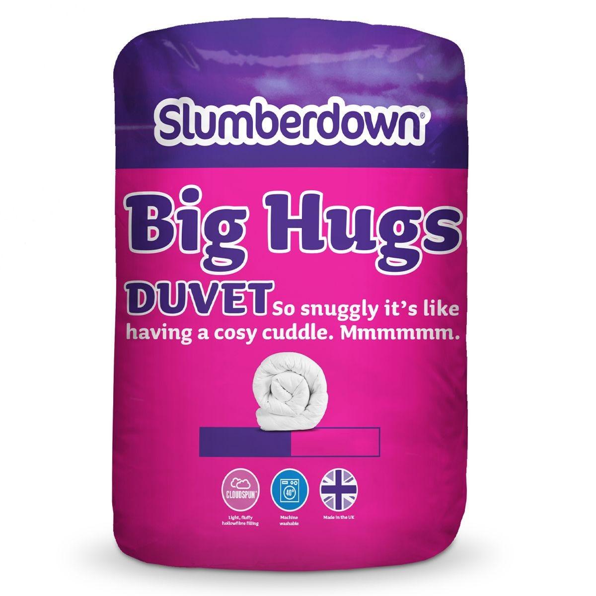 Slumberdown Big Hugs 10.5 Tog Duvet - White