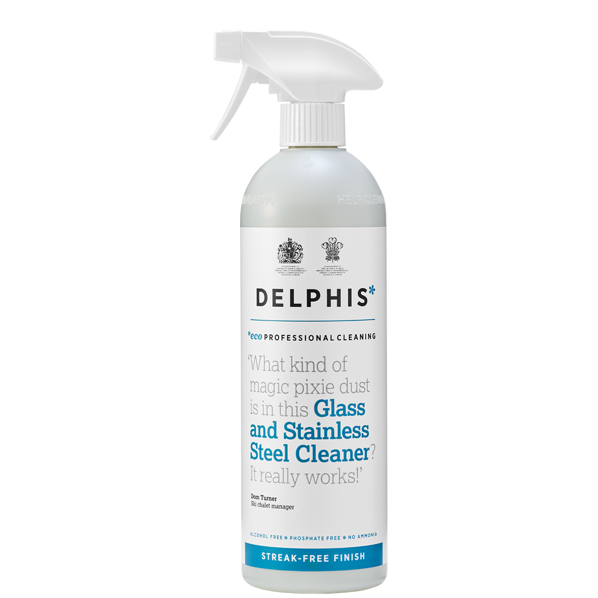 Delphis Glass and Stainless Steel Cleaner - 700ml