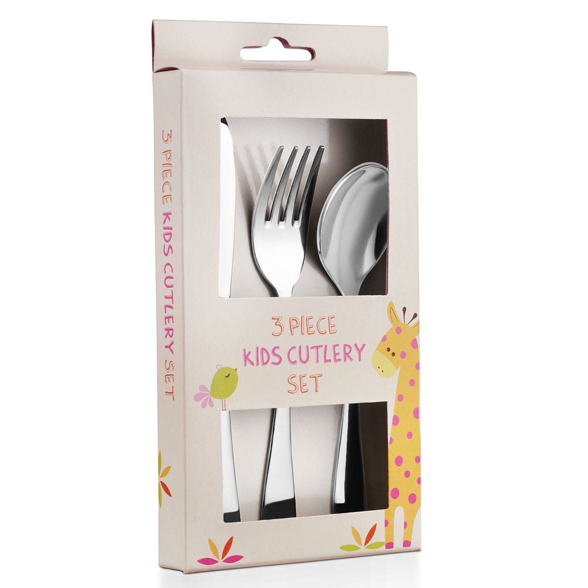 Robert Dyas 3-Piece Children's Cutlery Set