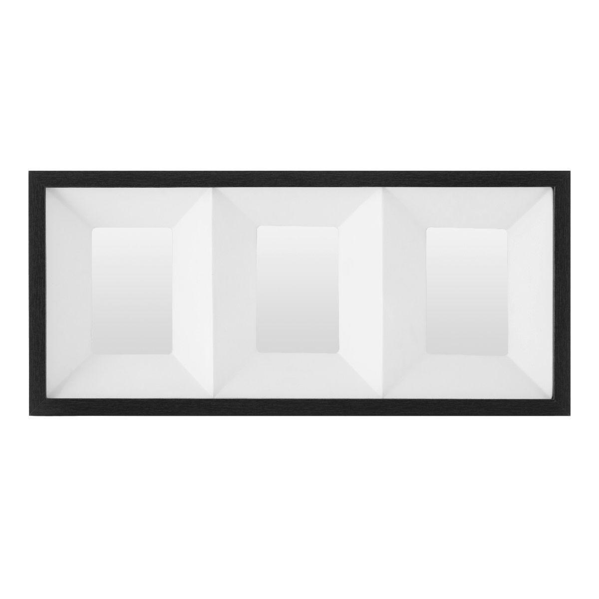Premier Housewares Collage Photo Frame 3D Box Design - Black
