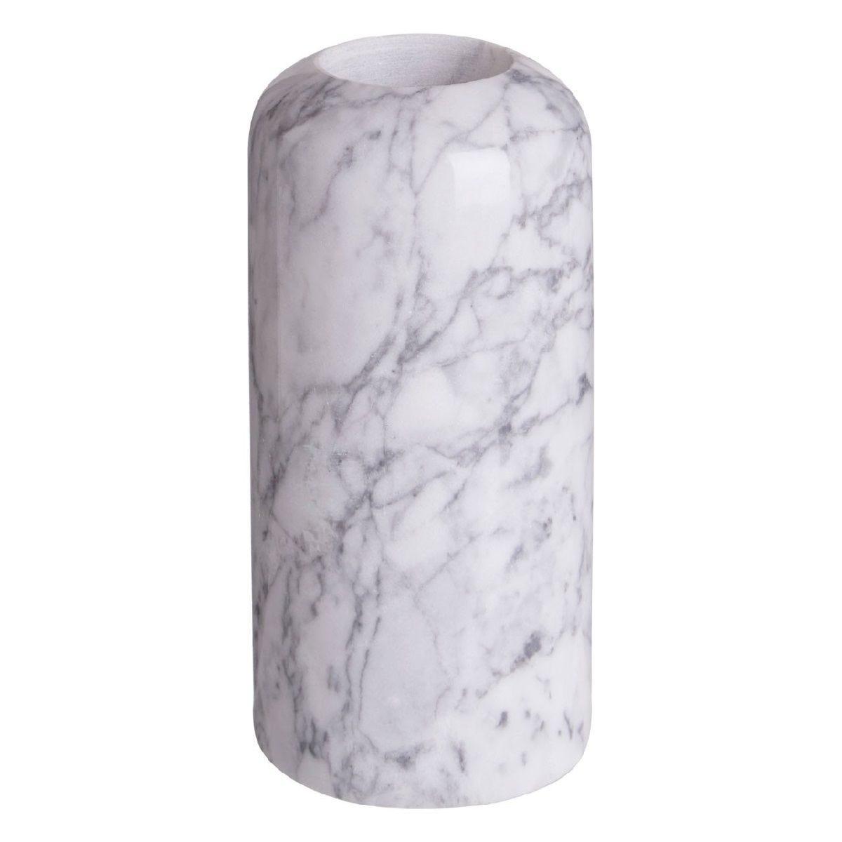 Premier Housewares Lamonte Candle Holder Large Tealight - Grey Marble