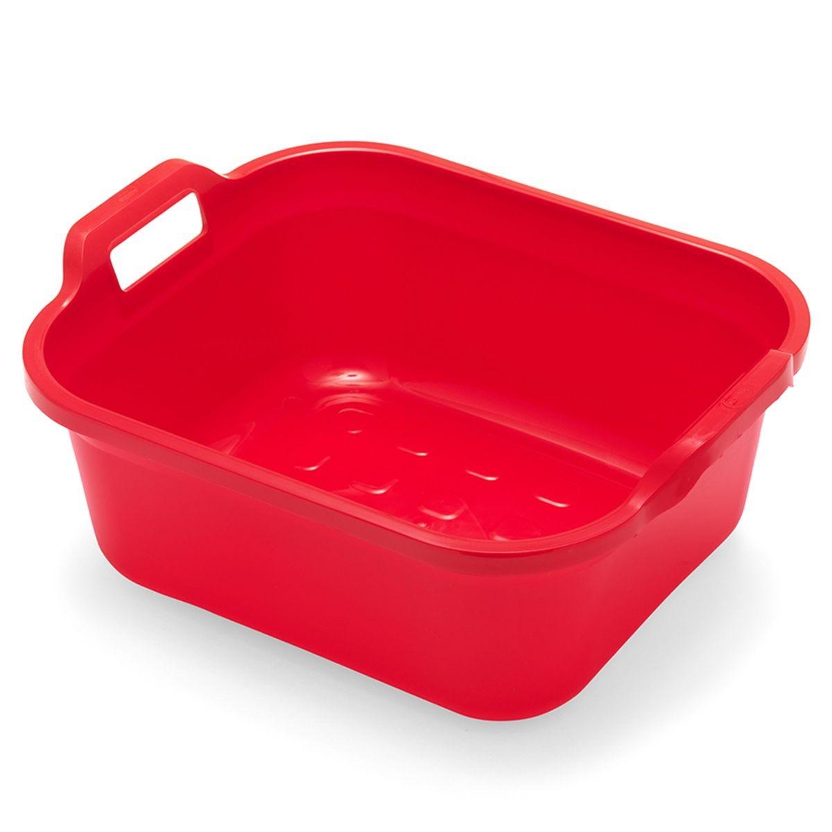Addis 10L Washing Up Bowl - Red