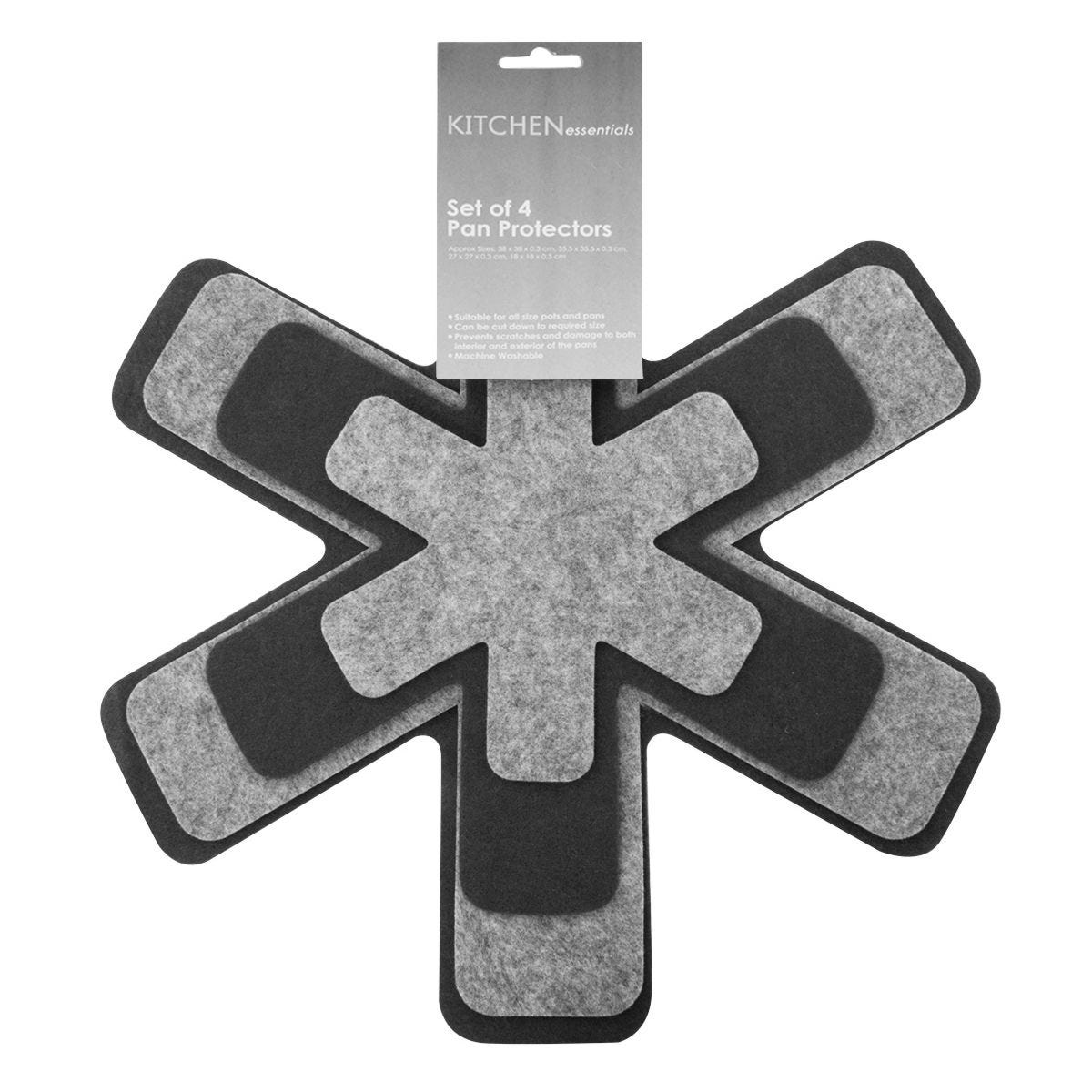 Kitchen Essentials Pan Protectors - Set of 4