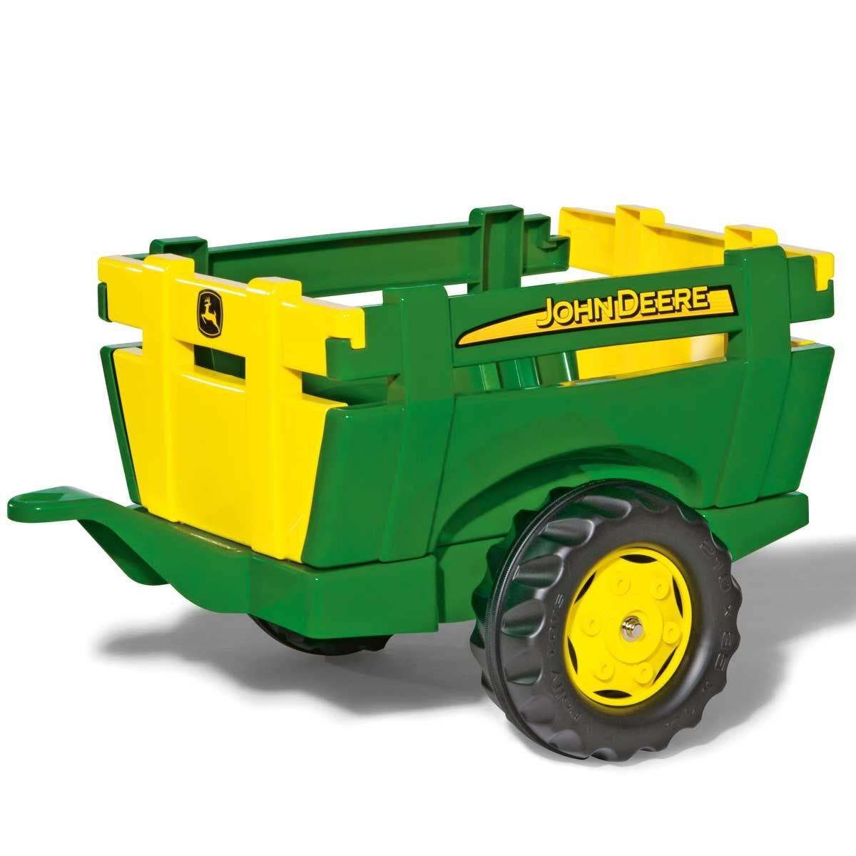 John Deere Farm Trailer for Kid's Ride-On Tractors