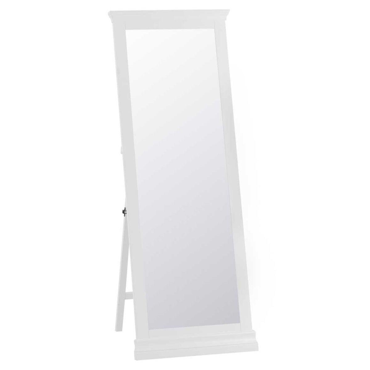 Sewla Cheval Full Length Mirror - White