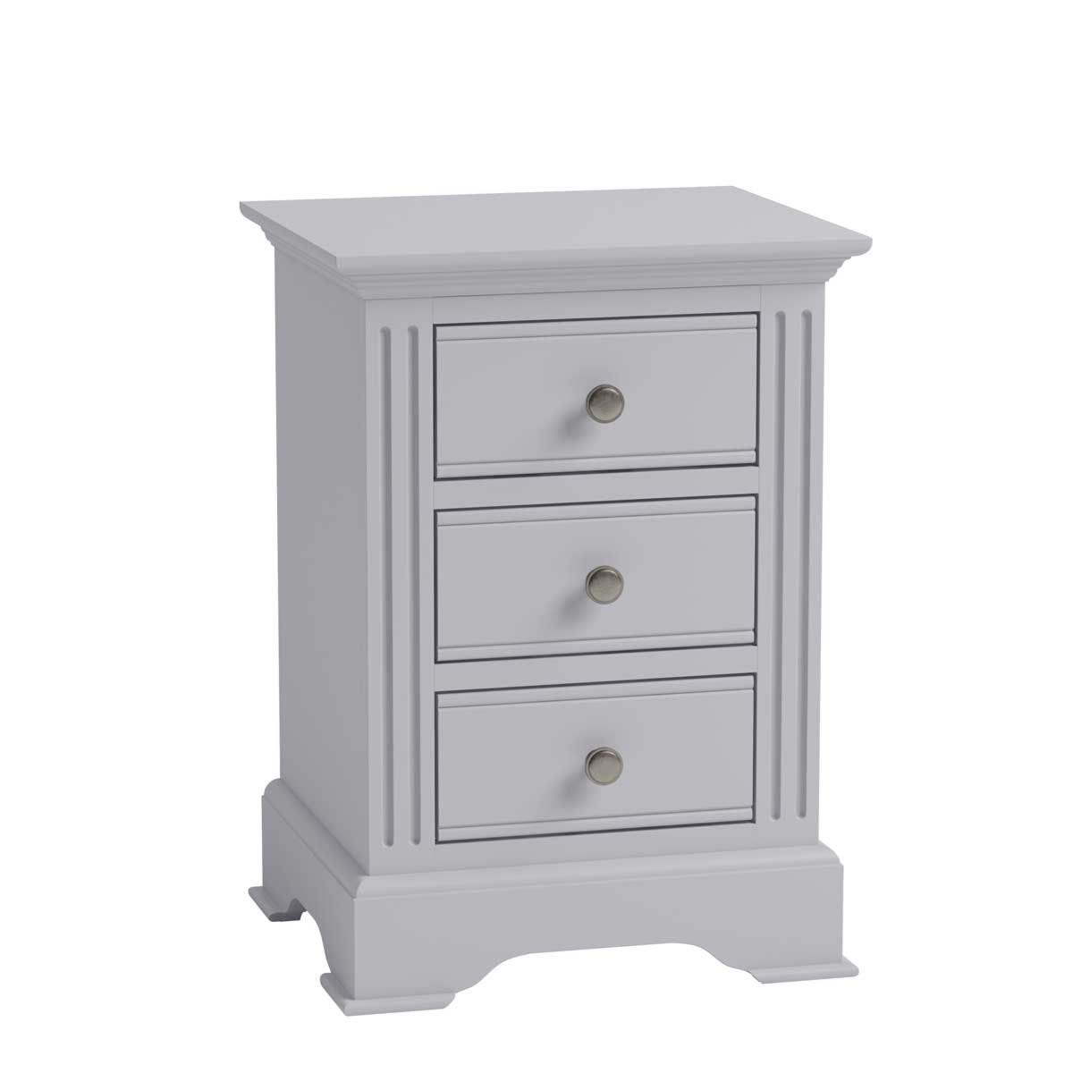 Bingley Large Bedside Cabinet - Grey