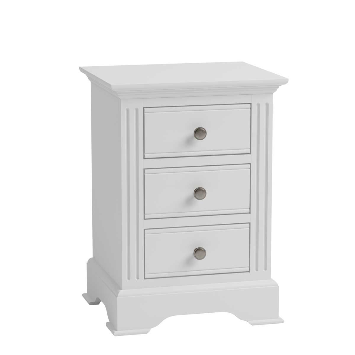Bingley Large Bedside Cabinet - White