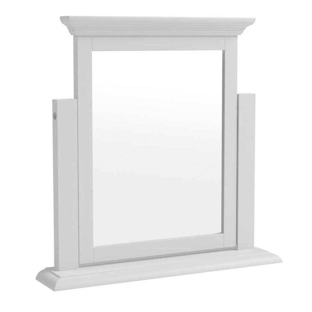Bingley Trinket Mirror - White