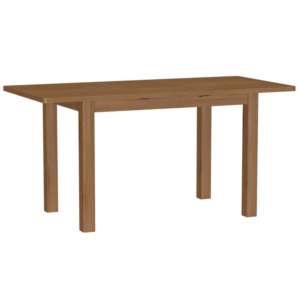 Rosewell Natural Oak 1.2m Extending Dining Table