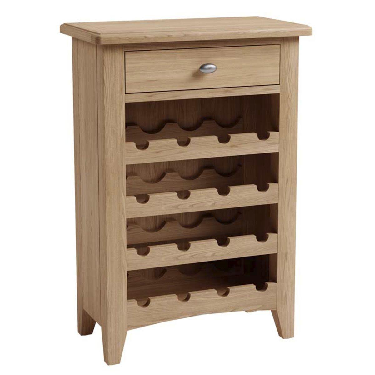 Golston Light Oak Wine Cabinet