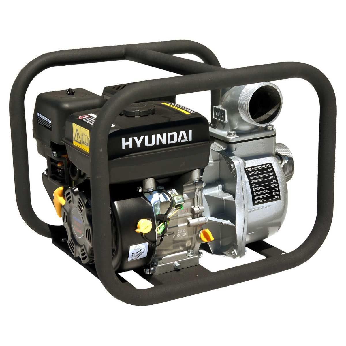 Hyundai HY80 80mm 3 Petrol Water Pump