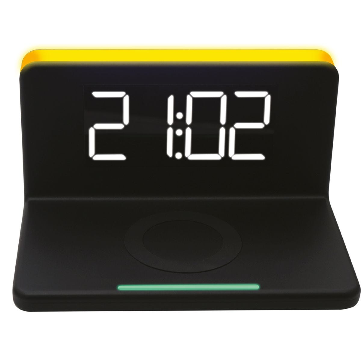 Daewoo Wireless Charger with Alarm Clock
