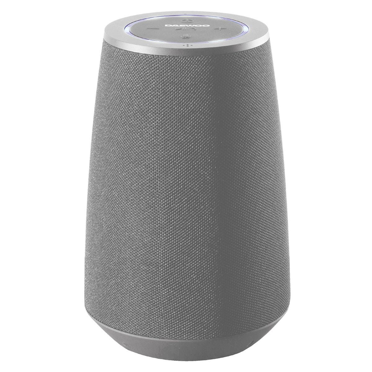 Daewoo Bluetooth Fabric Speaker with Voice Assistant Plus - Grey