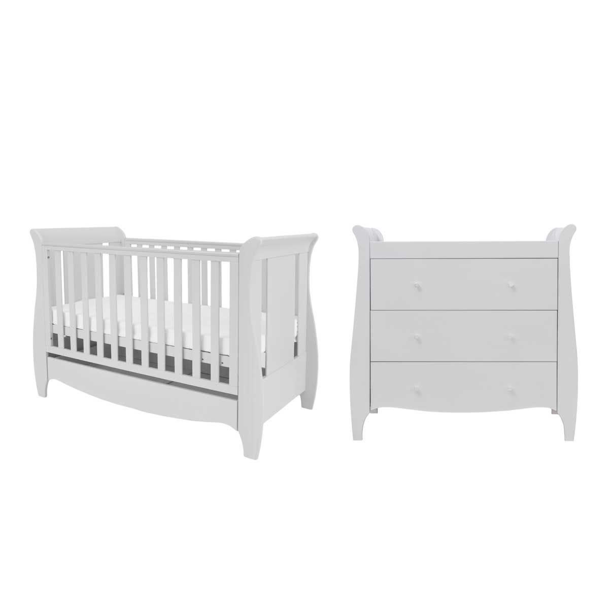 Tutti Bambini Roma Mini 2 Piece Room Set - Dove Grey