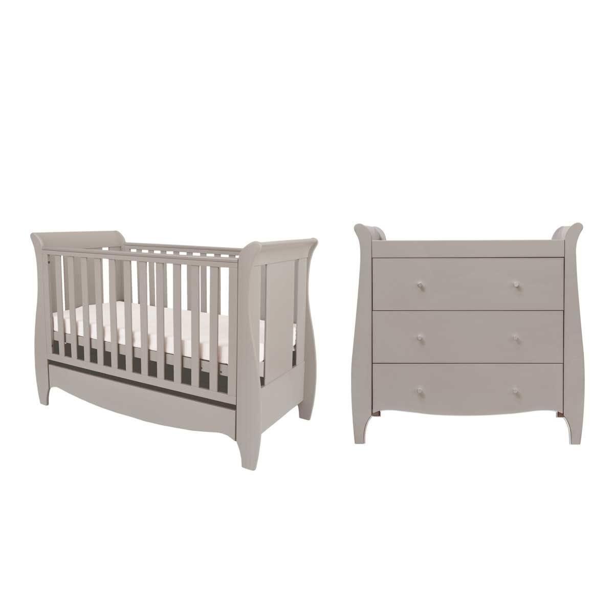 Tutti Bambini Roma Mini 2 Piece Room Set - Truffle Grey