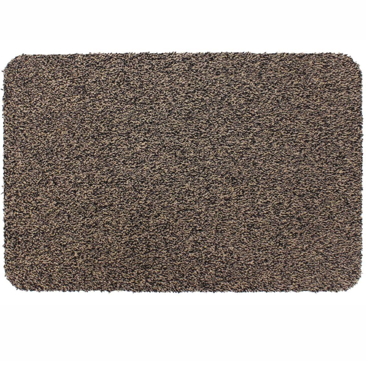 JVL 40x60cm Tanami Barrier Doormat - Brown