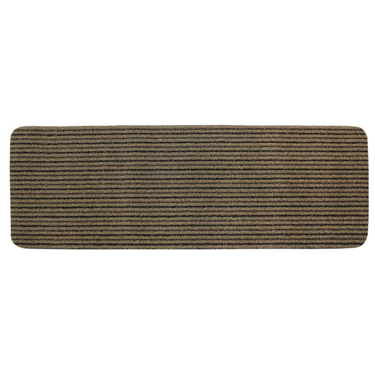 JVL Infinity Heavy Duty 50x150cm Doormat - Beige