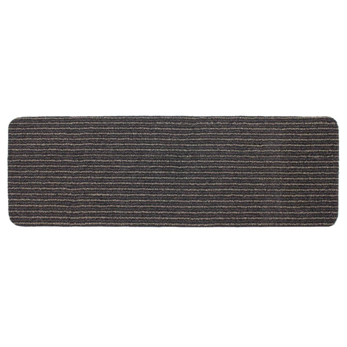 JVL Infinity Heavy Duty 50x150cm Doormat - Brown