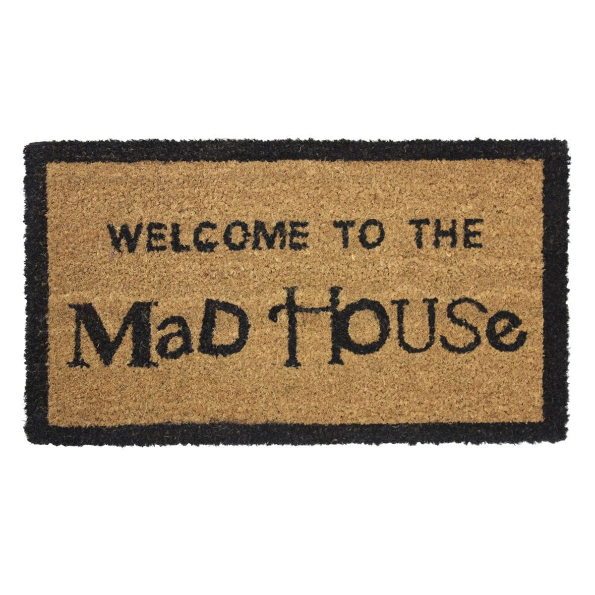 JVL 'Madhouse' Entrance Doormat - 33.5x60cm