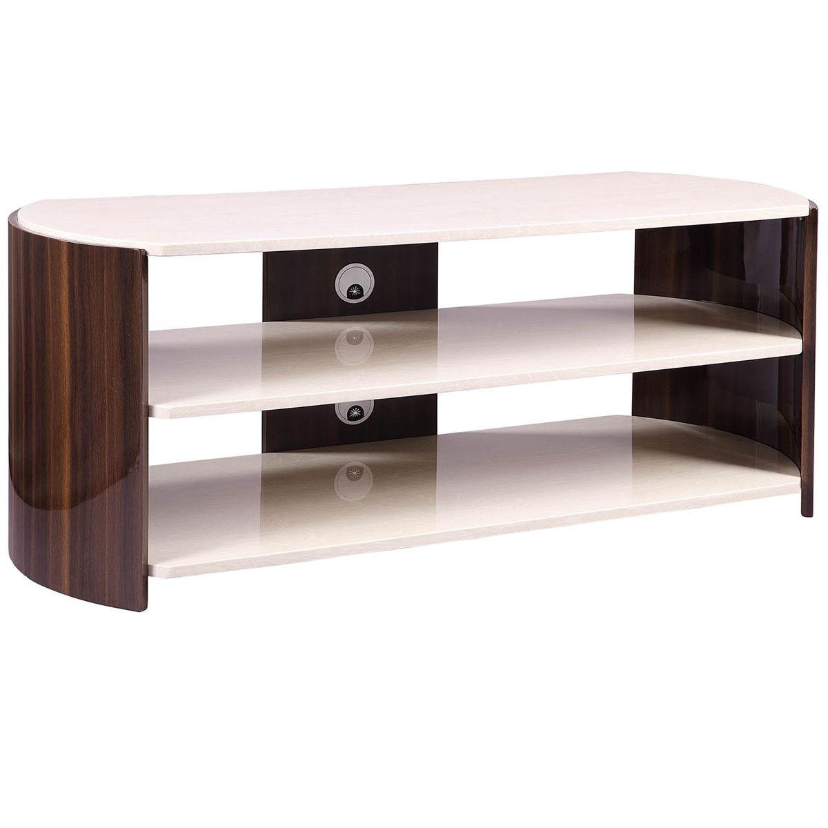 Jual Milan Walnut High Gloss TV Stand