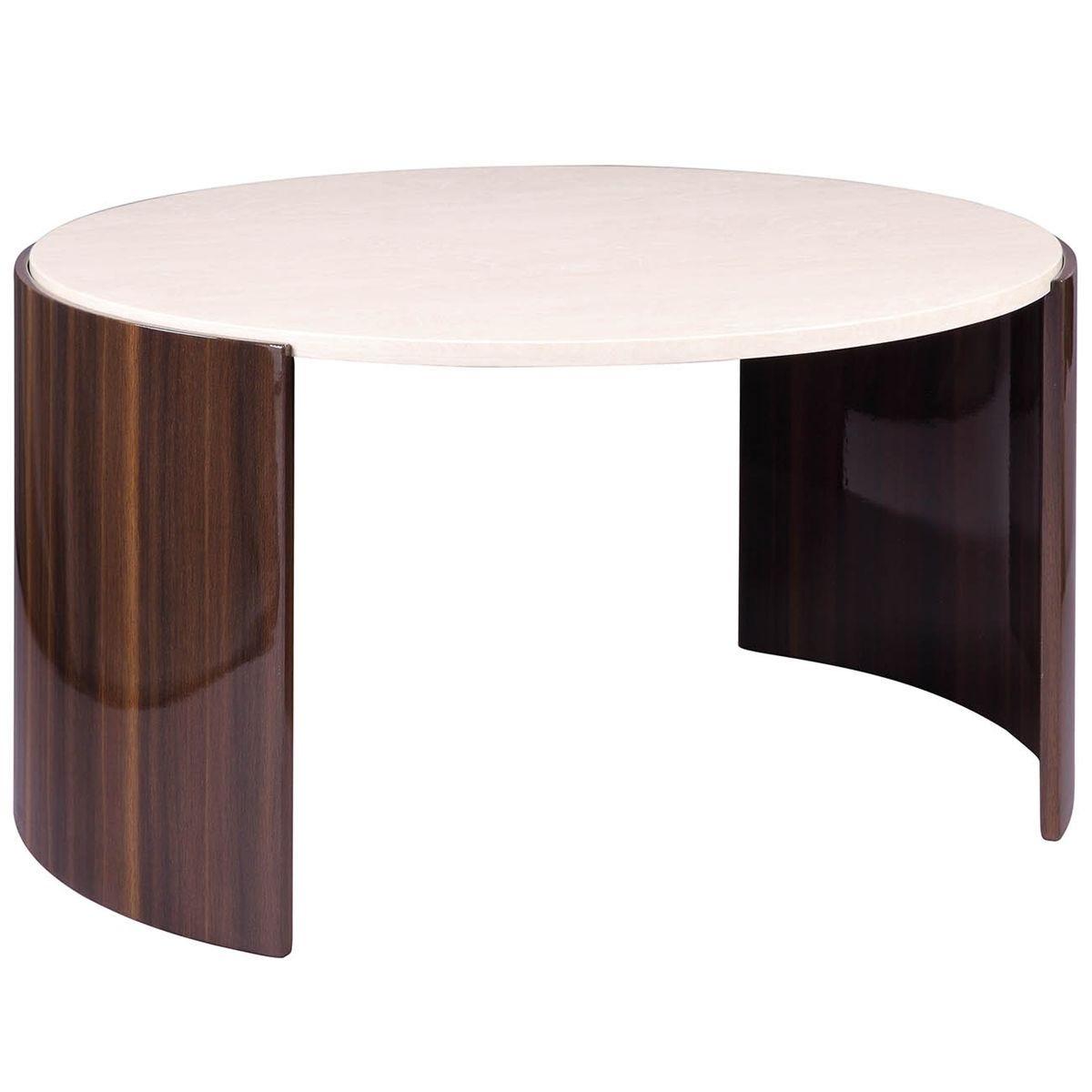 Jual Milan Walnut High Gloss Coffee Table