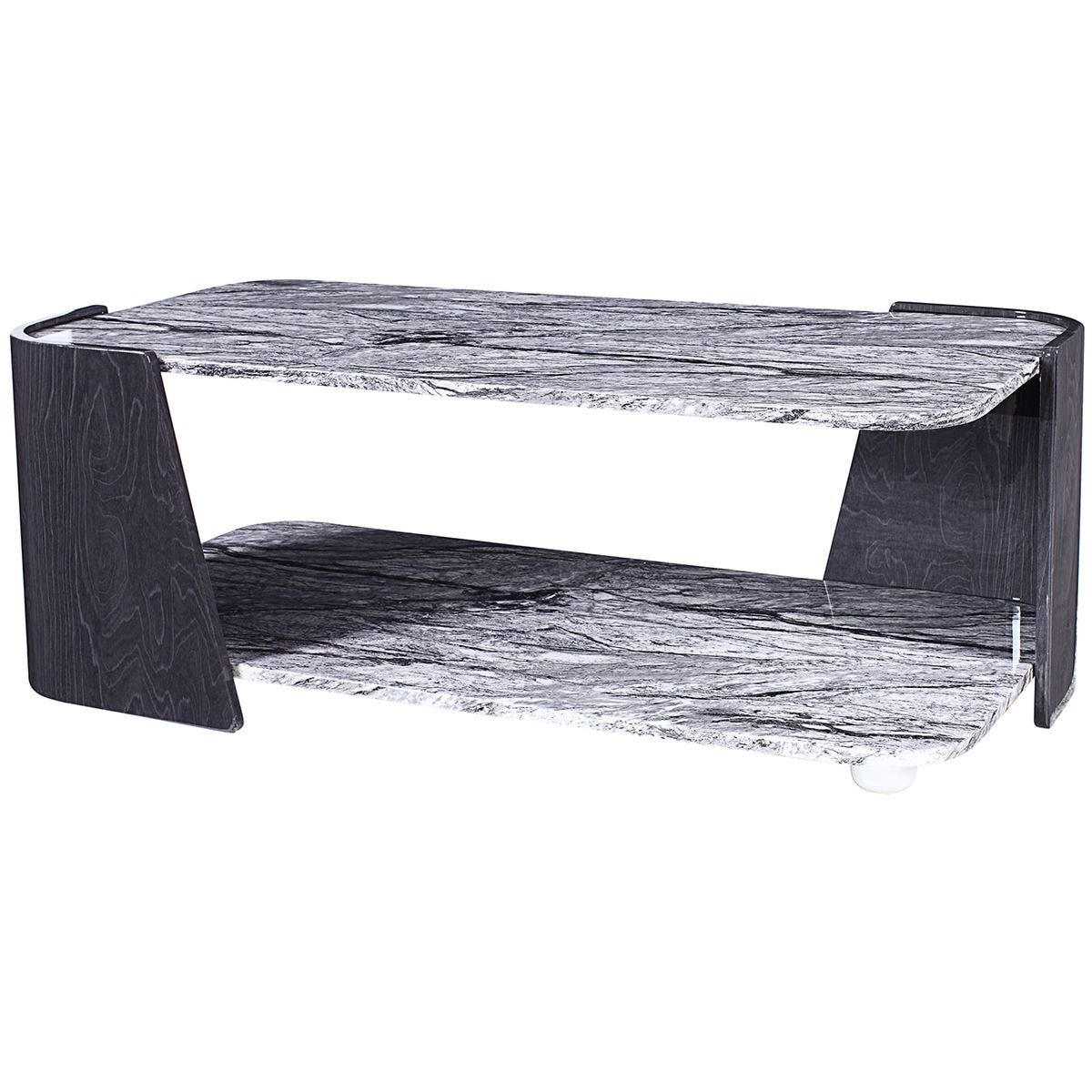 Jual Sorrento Grey High Gloss Coffee Table
