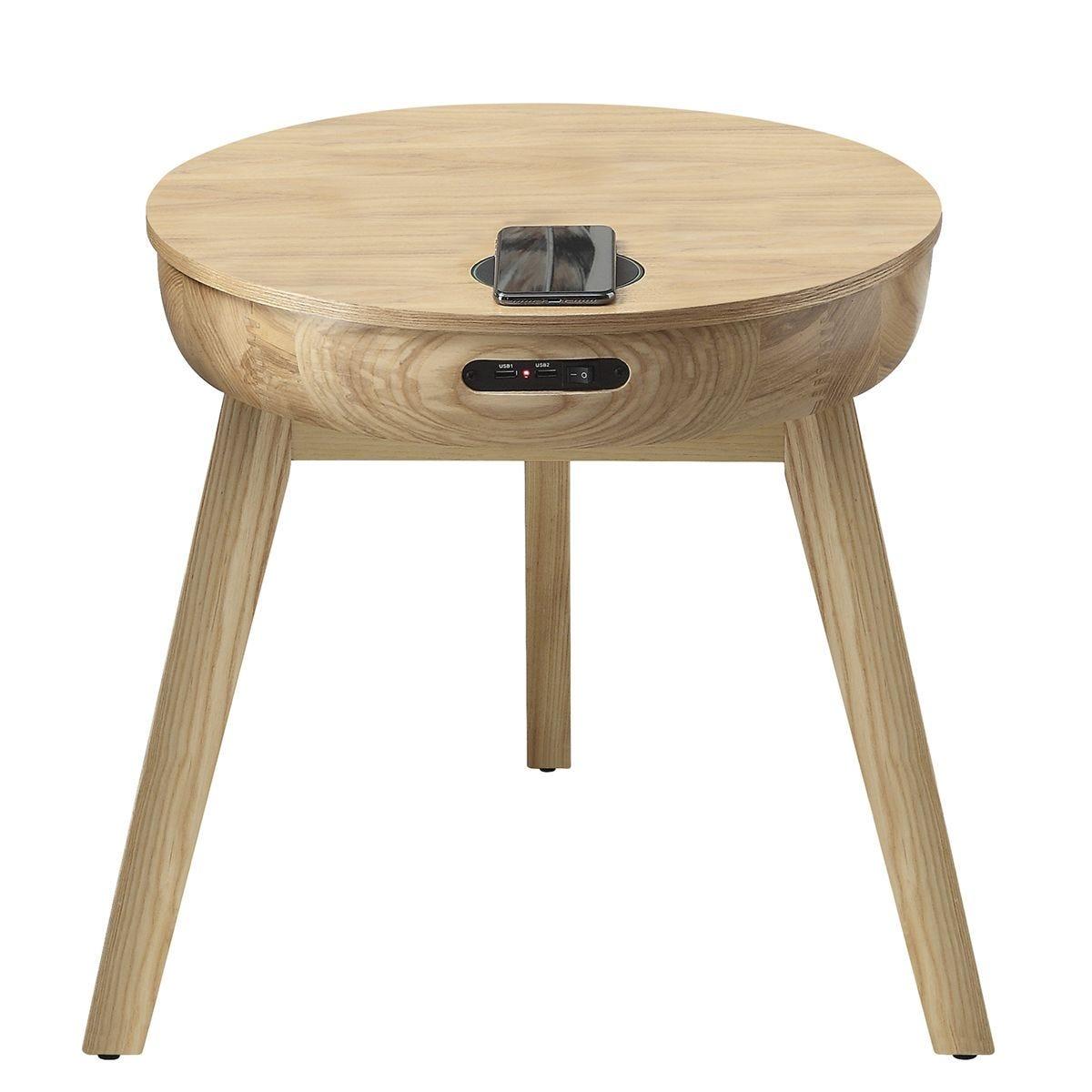 Jual San Francisco Ash Smart Lamp Table