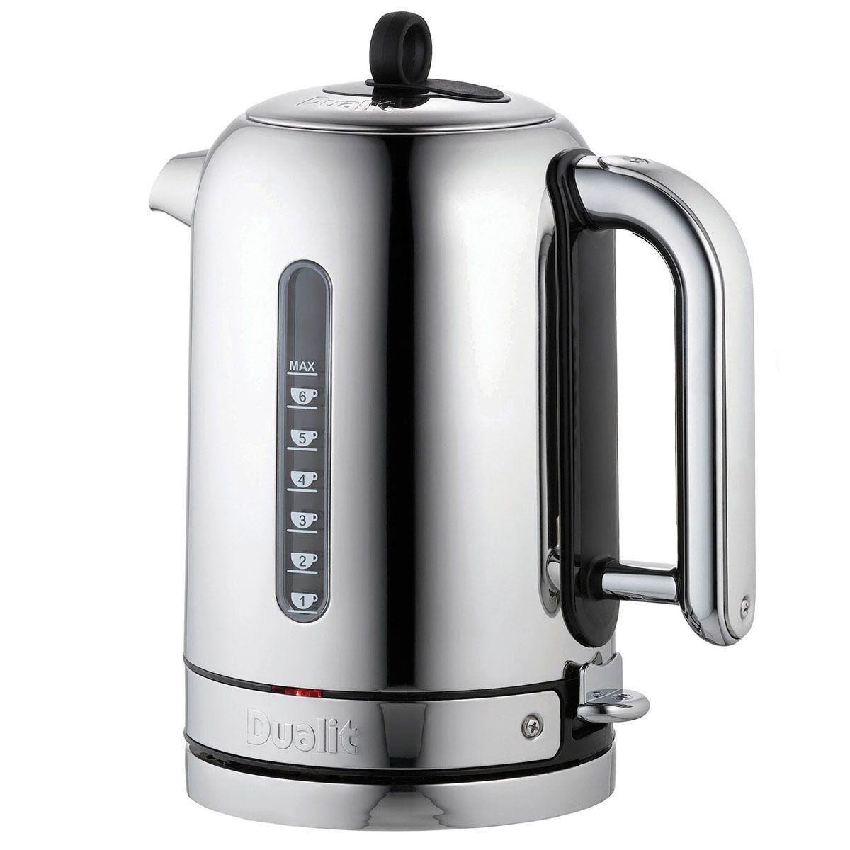 Dualit DA2815 Classic 1.7L 3kW Whisper Boil Kettle - Polished Stainless Steel