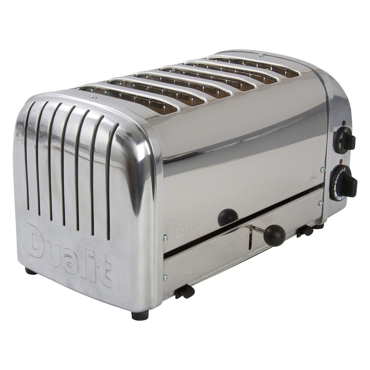 Dualit DA0144 6–Slice Classic 2200W Toaster – Polished Stainless Steel