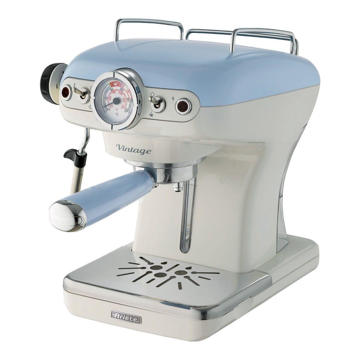 Ariete AR8915 Vintage 900W Espresso Coffee Maker – Blue