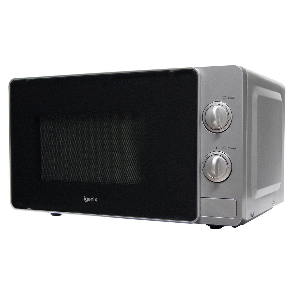 Igenix IG2081S 20L 800W Manual Microwave - Silver
