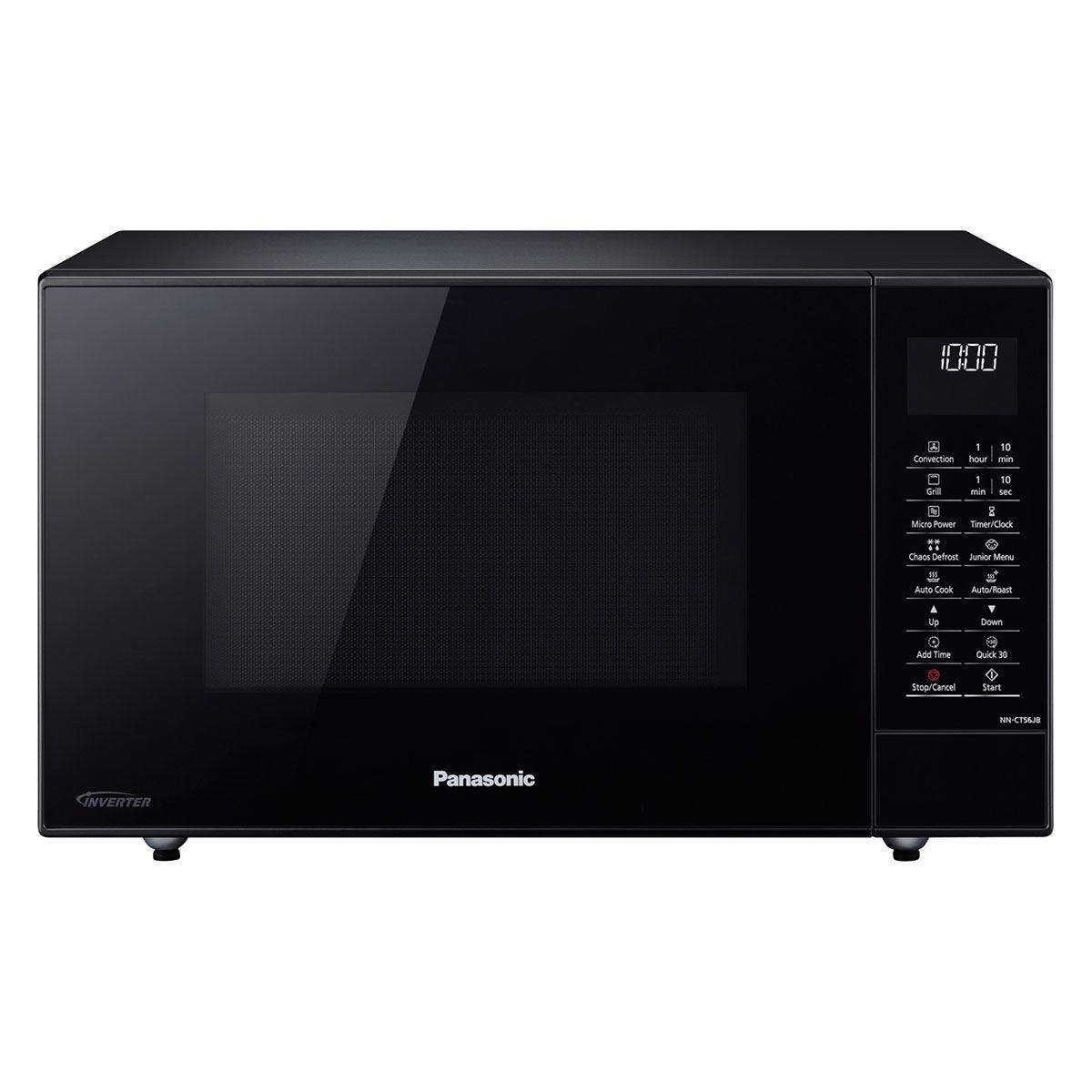 Panasonic NN-CT56JBBPQ 27L 1000W Digital Combination Inverter Microwave - Black