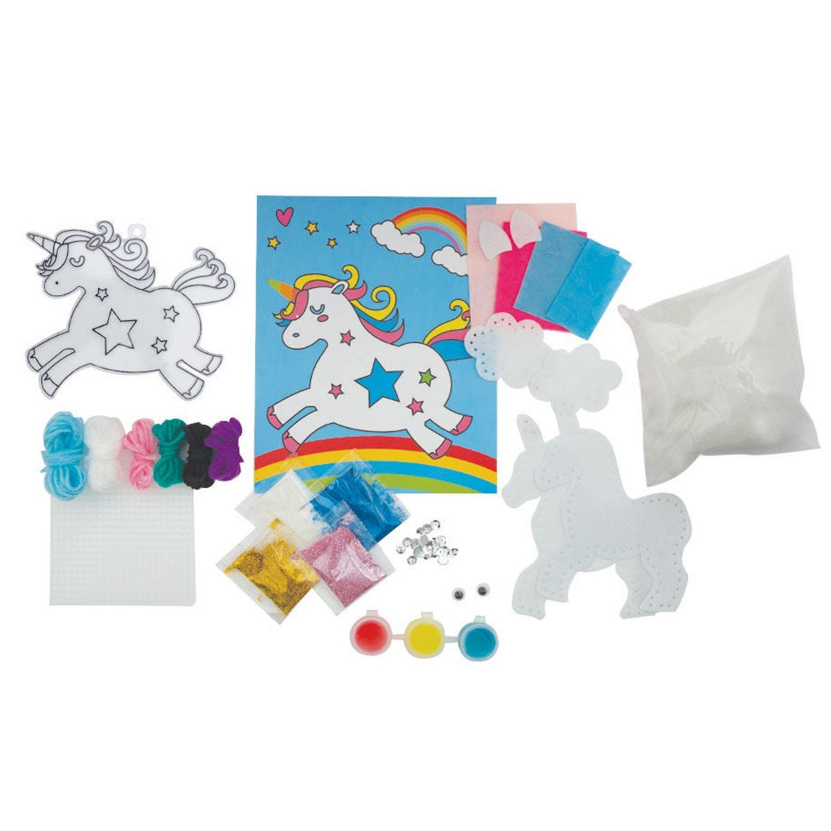 Doodle Make Your Own Magical Hanging Unicorns Kit