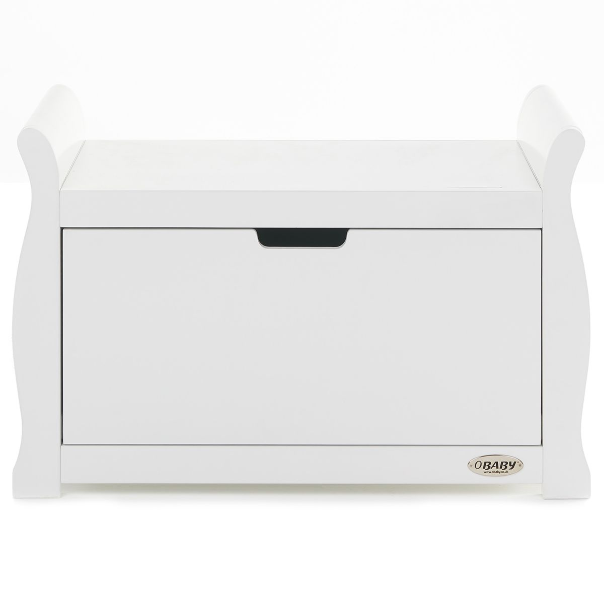 Obaby Stamford Sleigh Toy Box - White