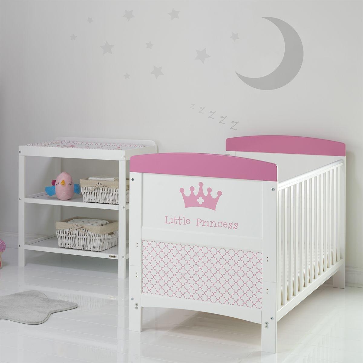 Obaby Grace Inspire 2 Piece Room Set & Changing Mat - Little Princess