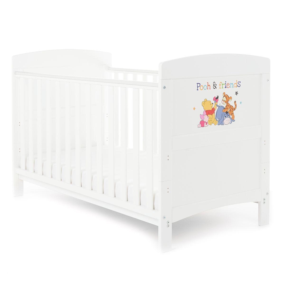 Disney Winnie the Pooh Cot Bed - Pooh & Friends