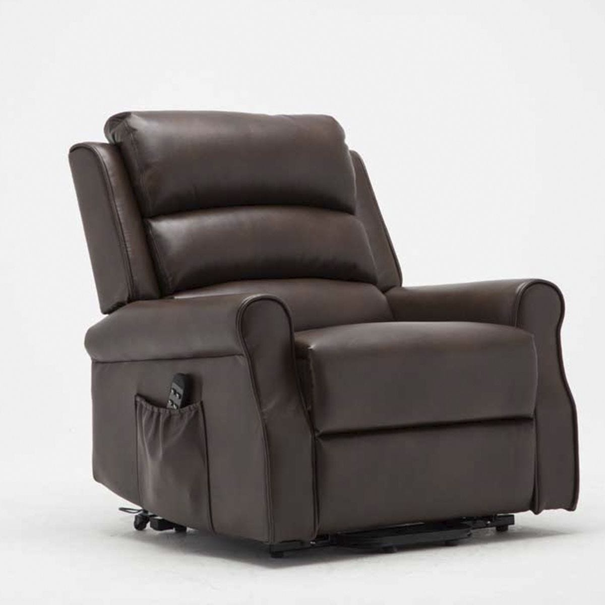 Balio Twin Motor Rise & Recline Chair (Normal Width) - Brown