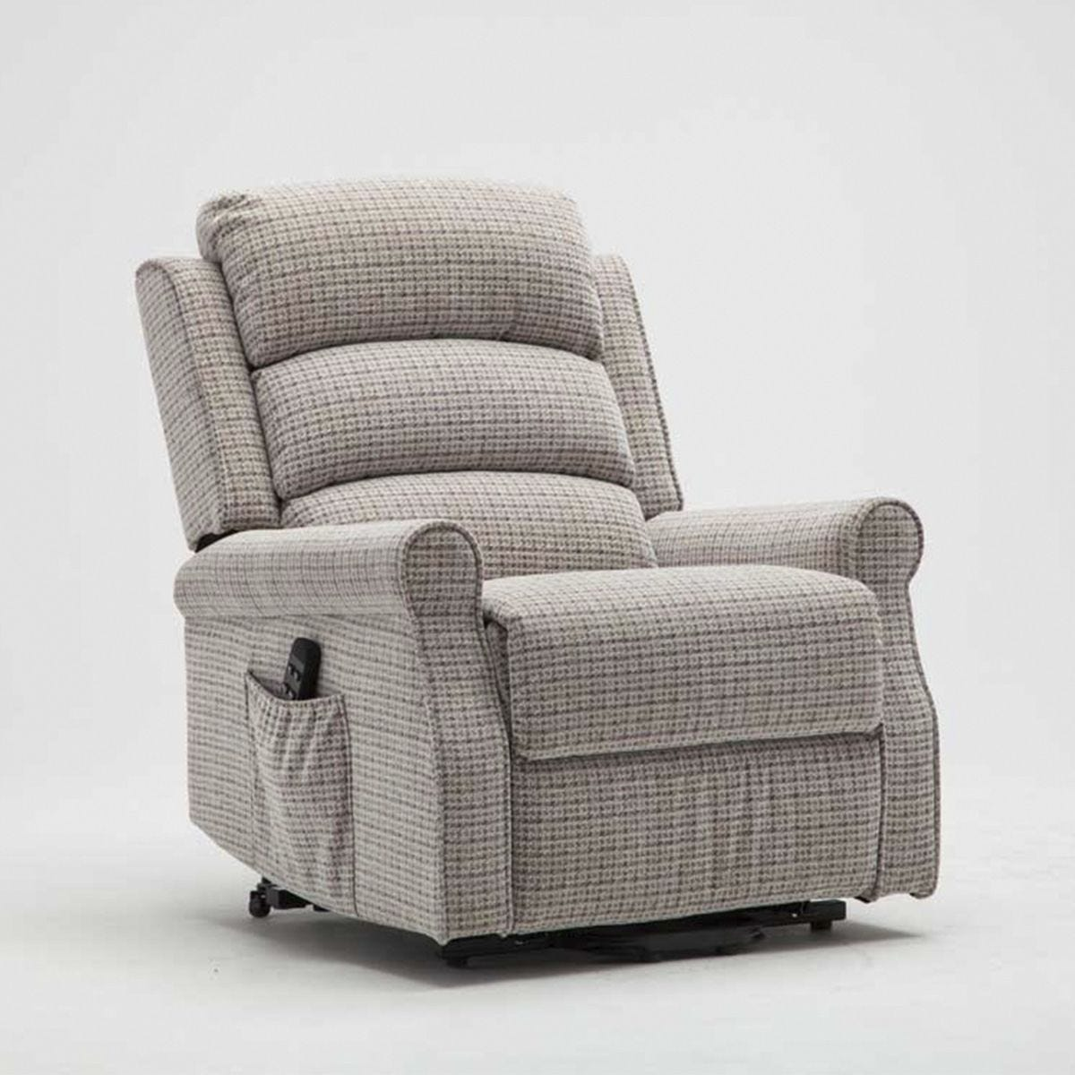 Balio Twin Motor Rise & Recline Cair (Normal Width) - Natural
